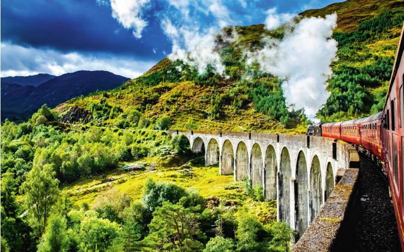 Schottland Zug 800x500