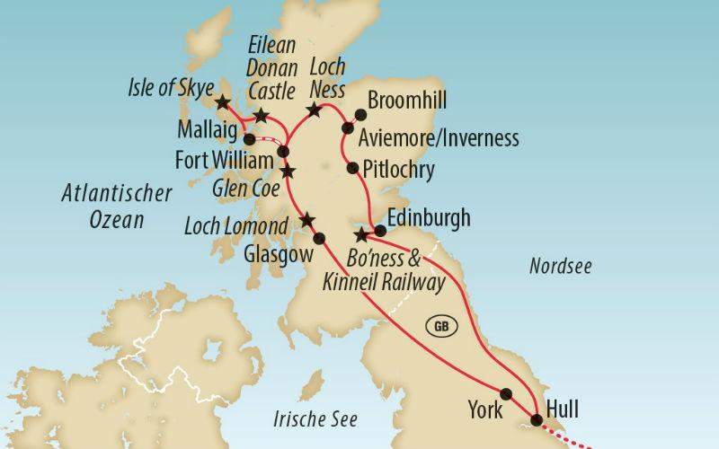 Schottland - Eisenbahnromantik & Landschaftsträume 2