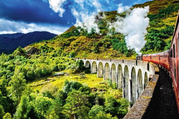 Schottland Zug TOP