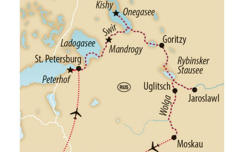 De Saint-Pétersbourg à Moscou 1