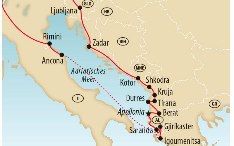 Charmes de l'Albanie 5