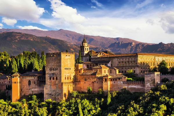 Alhambra in Granada TOP
