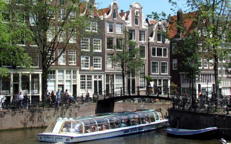 Amsterdam & floraison des tulipes 1