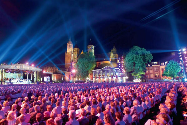 André Rieu live auf dem Maastrichter Vrijthof TOP