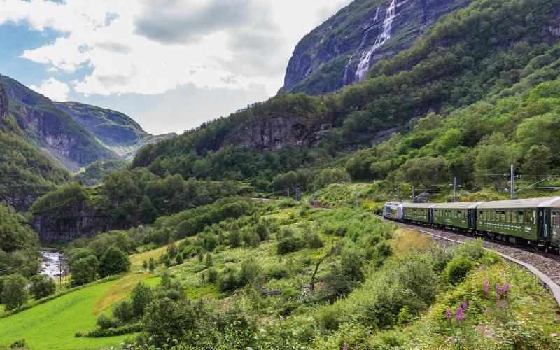 Bahnromantik, Hurtigruten & Mitternachtssonne 1
