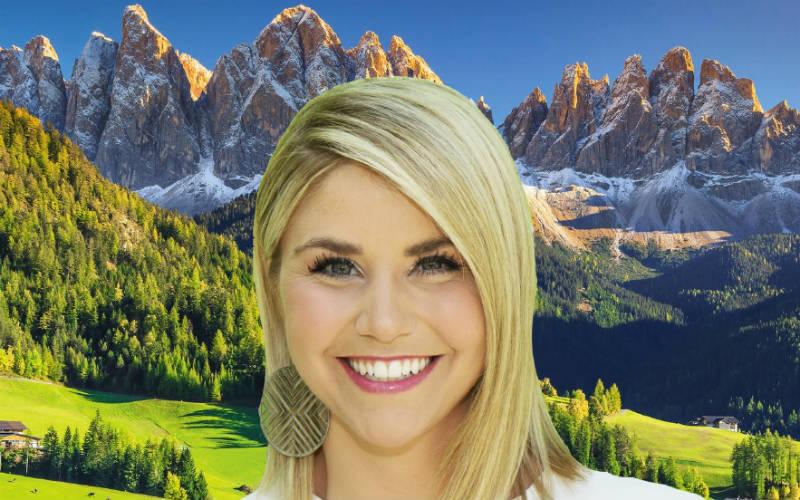 Beatrice Egli im Südtirol 1