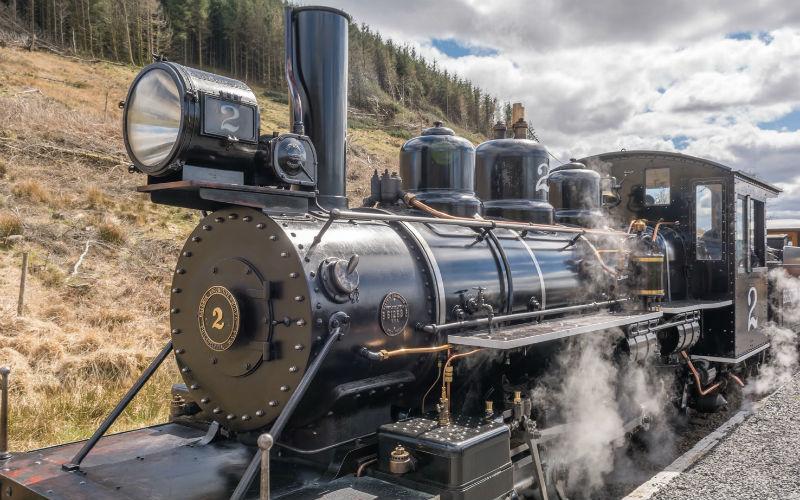 Eisenbahnparadies Wales 1