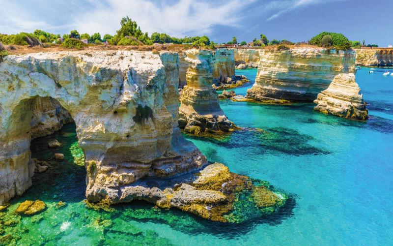 Vom Golf von Neapel nach Apulien 2