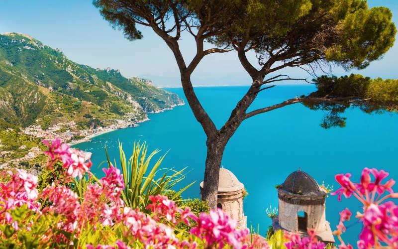 Goldener Herbst an der Amalfiküste 8