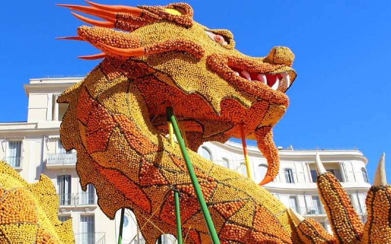 Karneval in Nizza & Zitronenfest in Menton 1