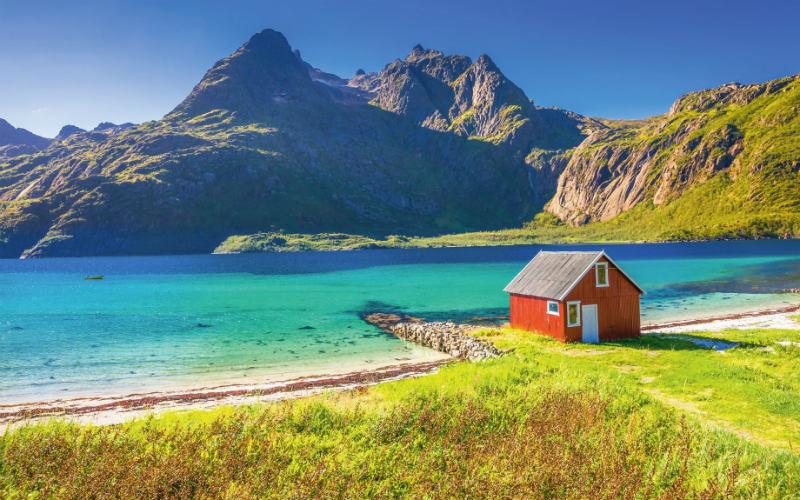 Bahnromantik, Hurtigruten & Mitternachtssonne 4
