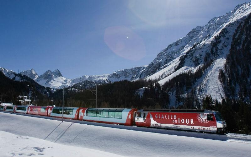Bernina- & Glacier-Express im Winter 4