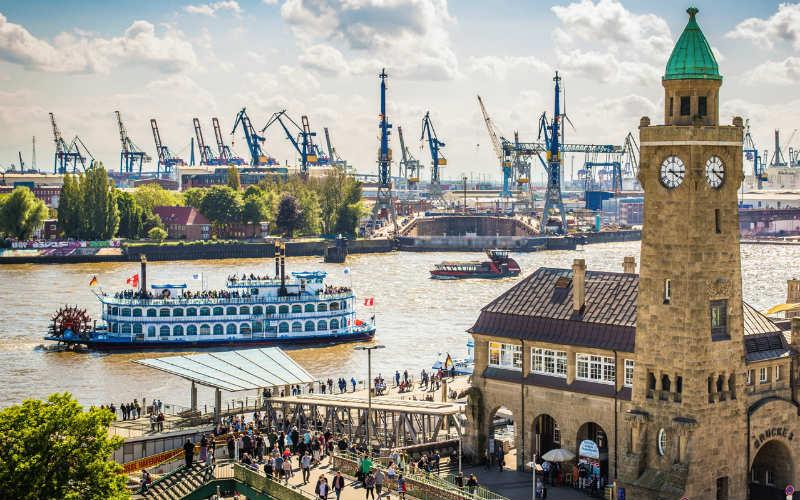 London, Hamburg & die Queen Mary II 6