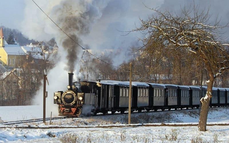 Avent & circuit romantique en train à vapeur 5