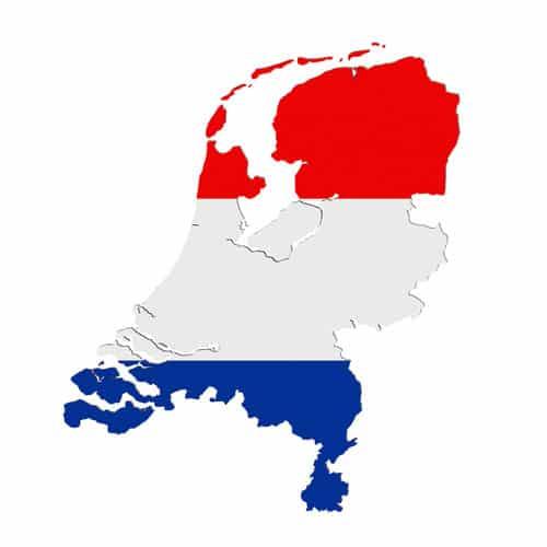 Karte von Holland