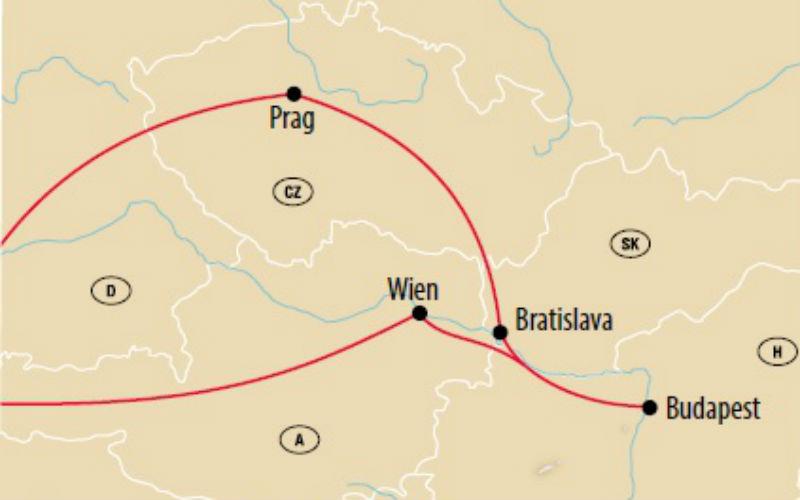 Prag, Budapest & Wien 4
