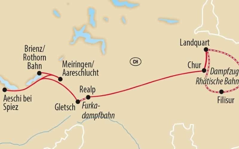 Schweizer Dampfeisenbahn Klassiker 4