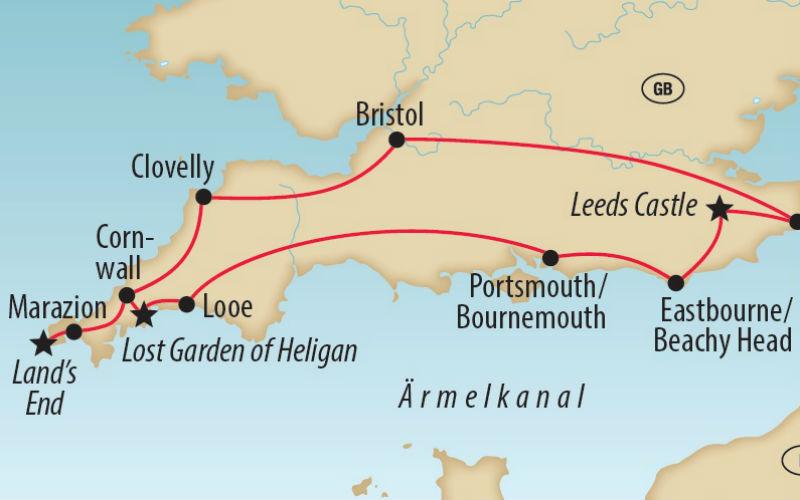 Les côtes du sud de l'Angleterre 4