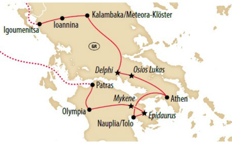 Die grosse Griechenland Rundreise 6