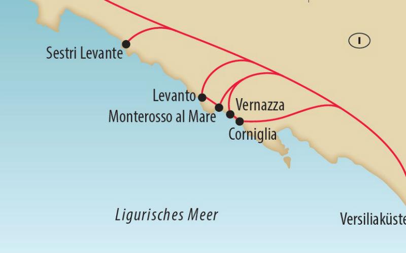 Wandern in den Cinque Terre 1