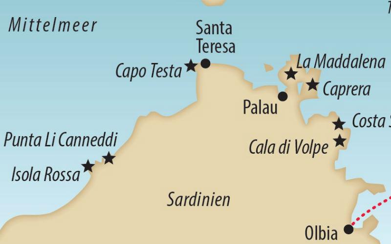 Küstenwandern auf Sardinien 4
