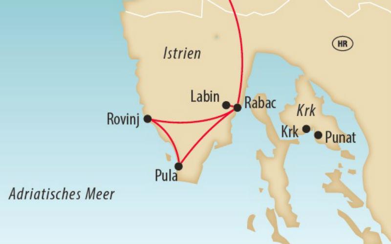 Istrien & Insel Krk 1