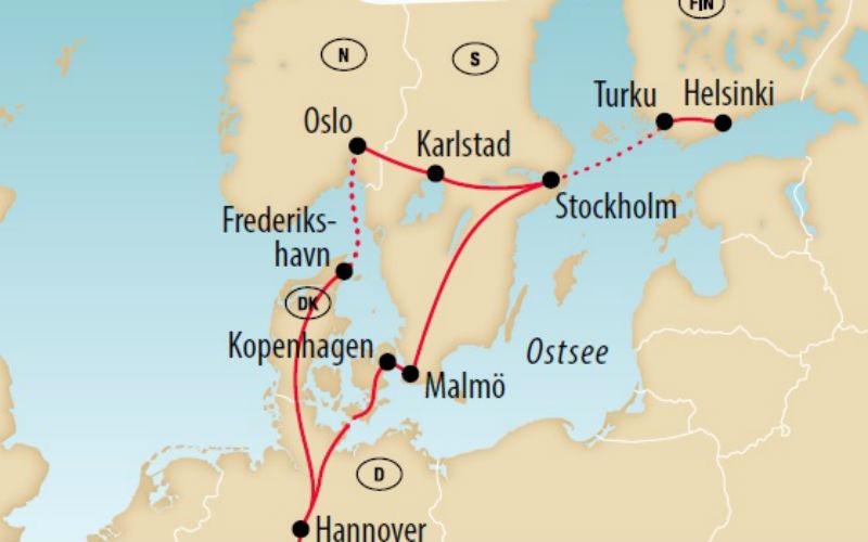 Quatre villes scandinaves d'un coup 4
