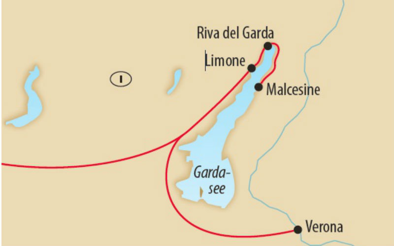Limone, au bord du lac de Garde 3