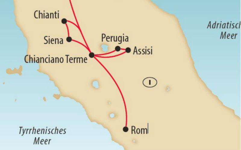 Siena, Rom & Assisi 1