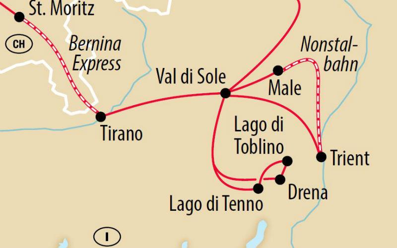 Trentino & Bernina Express 3