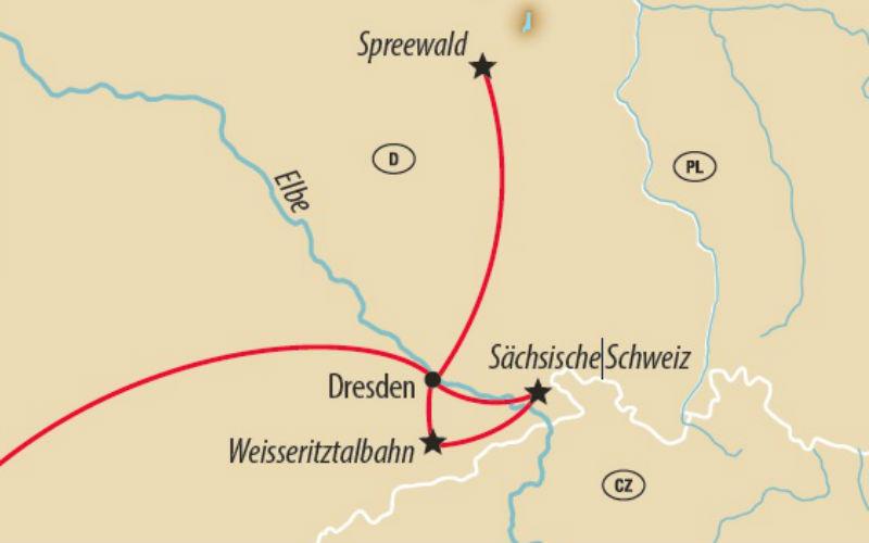 Zauberhaftes Dresden & märchenhafter Spreewald 1