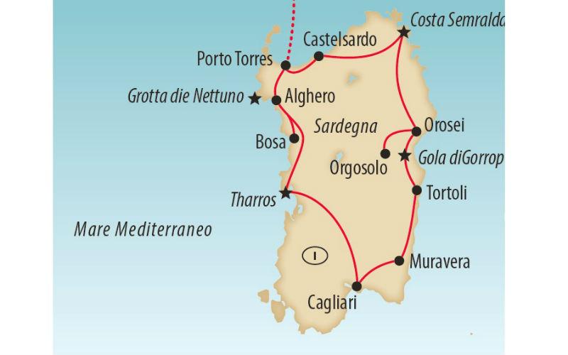 Grosse Sardinien - Rundreise 6