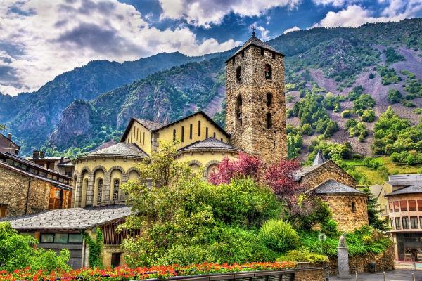 Kirche Sant Esteve Andorra TOP