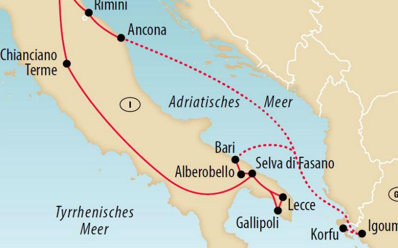 Korfu & Apulien 3