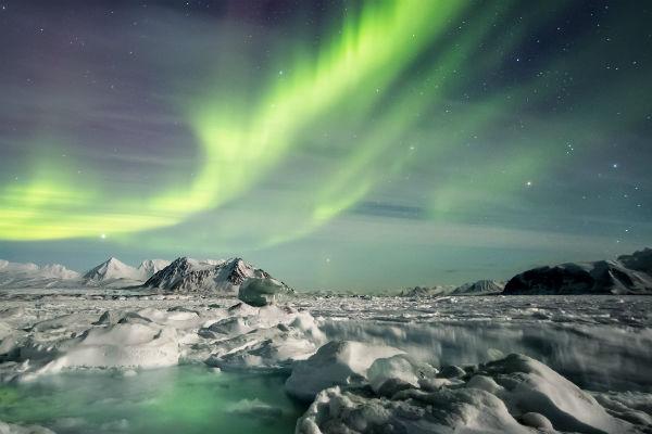 Fantastische Polarlichtzeit in Finnisch Lappland 1