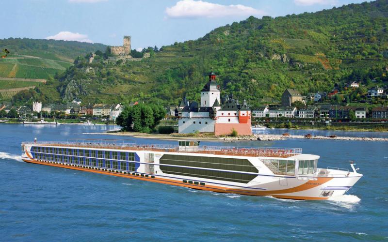 Auf der schönen blauen Donau 4