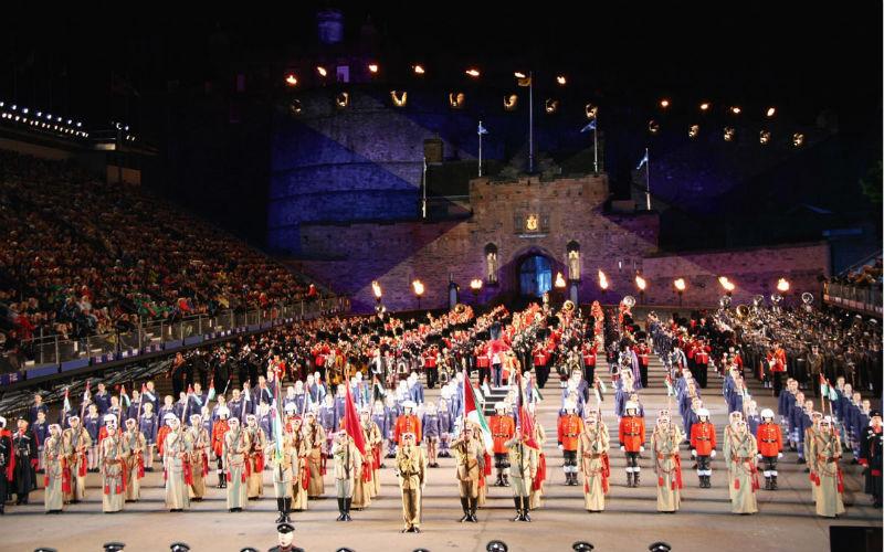 Auf grosser Schottland Tour zum Military Tattoo 4