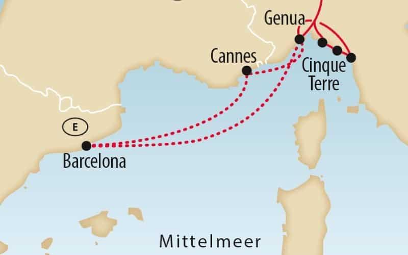 Mittelmeer-Safari (Westl. Mittelmeer) 6