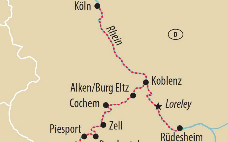 Super offre: Rhin & Moselle 5