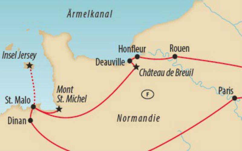 Bretagne, Normandie & île de Jersey 3