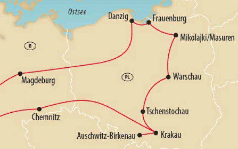 Le grand circuit en Pologne 3