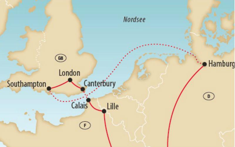 London, Hamburg & die Queen Mary II 4