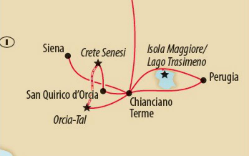 Romantisme des trains à vapeur en Toscane 4