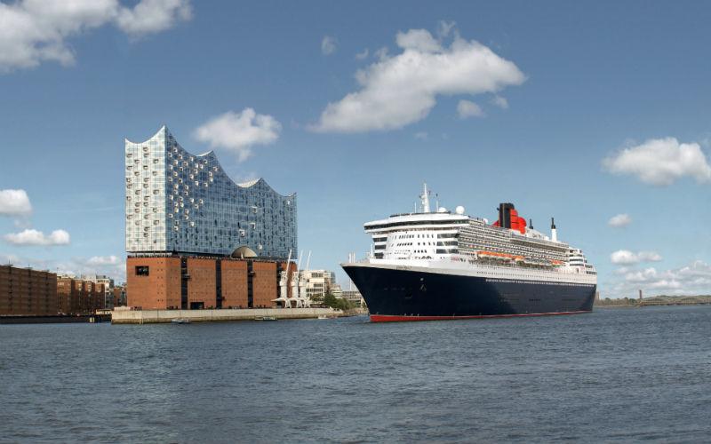 London, Hamburg & die Queen Mary II 1