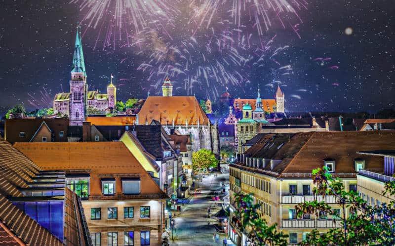 Silvesterzauber in Nürnberg 1
