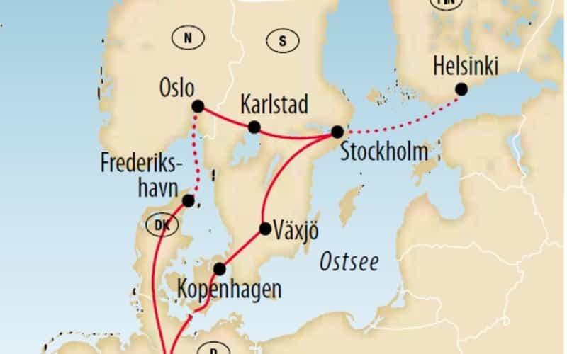 Skandinavischer 4-Städtezauber 7