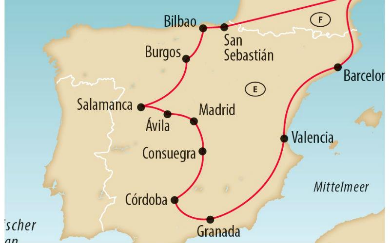 Die grosse Spanien Rundreise 8