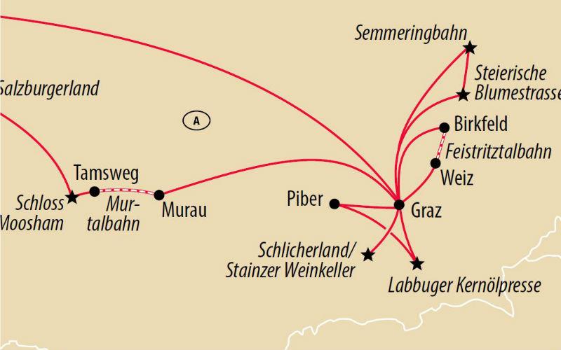 Mit Dampf & Genuss in der Steiermark 3