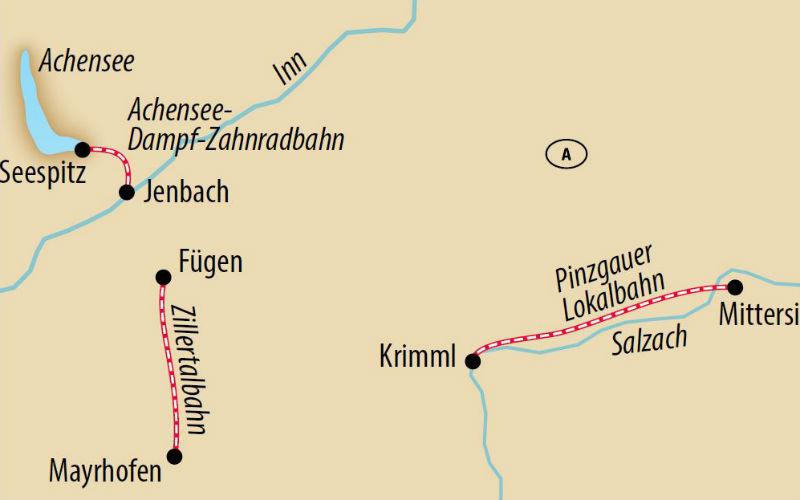 Mit Volldampf durch die Alpen 3