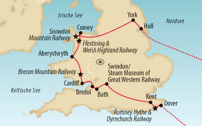 Eisenbahnparadies Wales 4